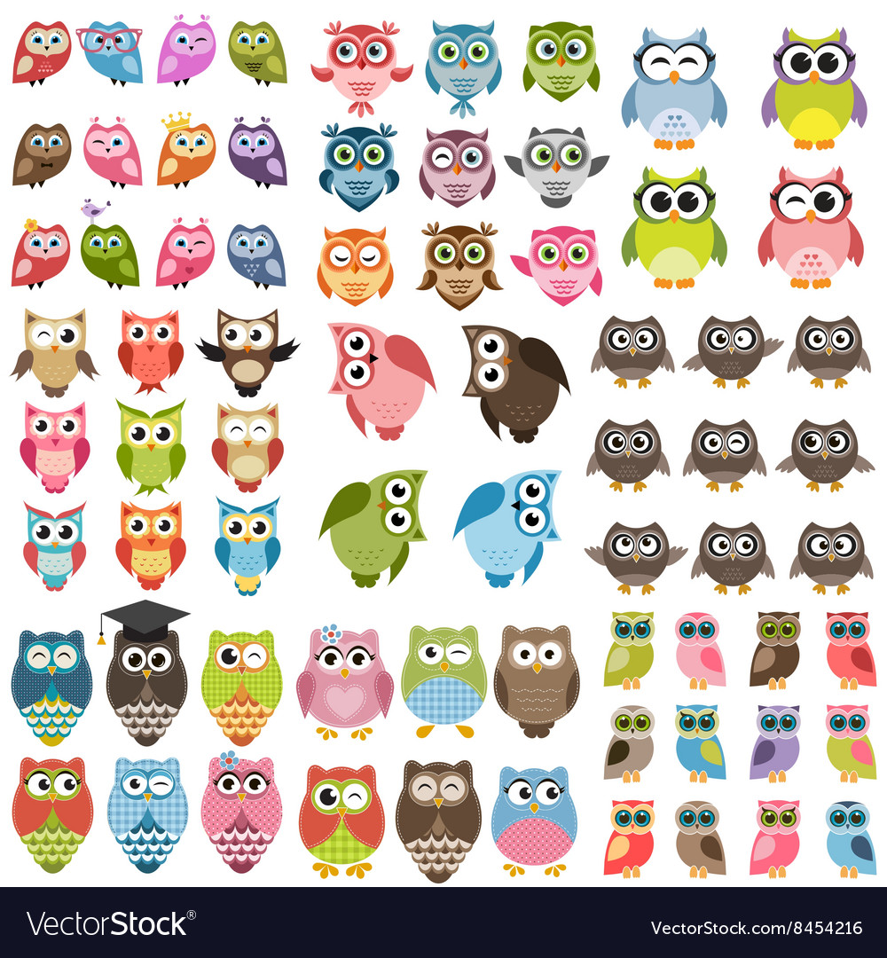 Owls and owlets set