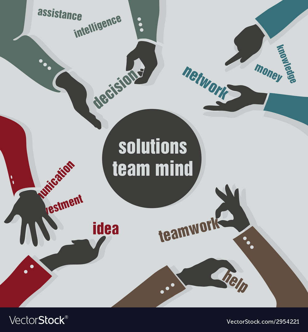 Concept solutions team mind