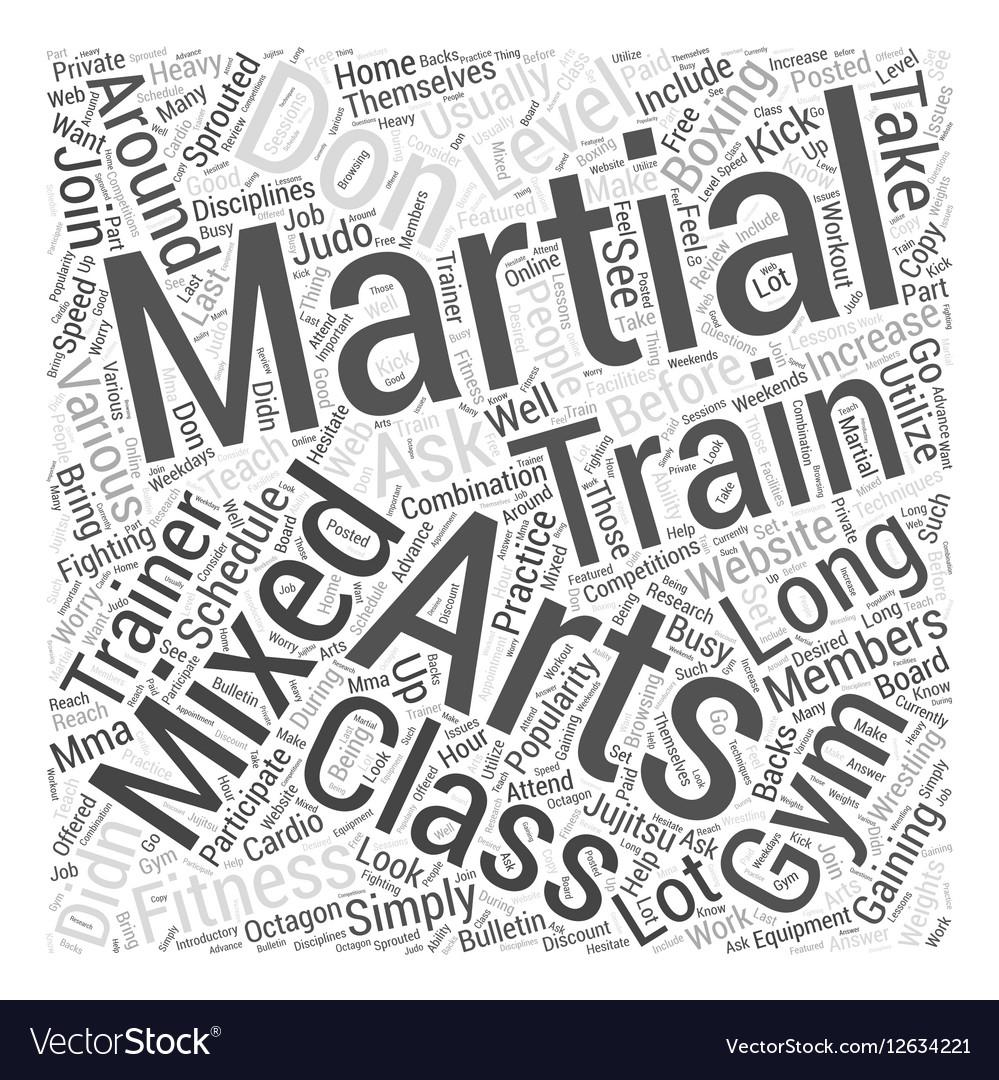 Martial Arts Training Pdf