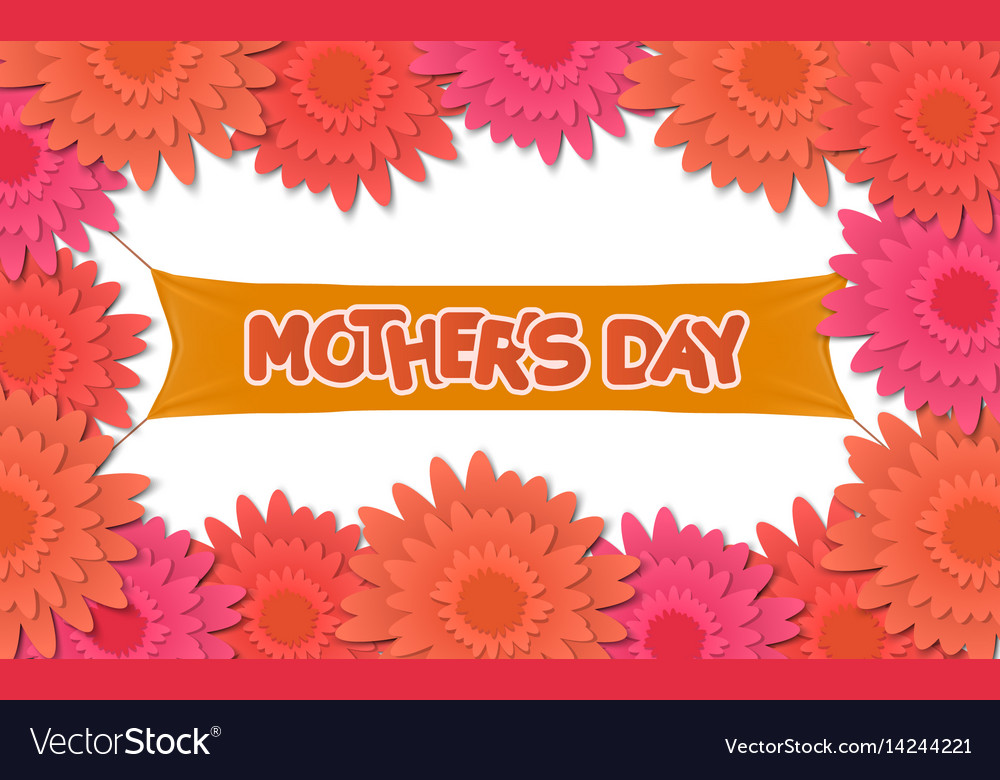 Mother day holiday background can be use for