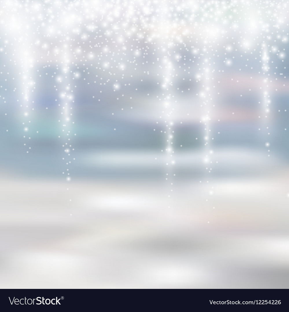 White Christmas Snow Background.Light Silver And White Christmas Background With
