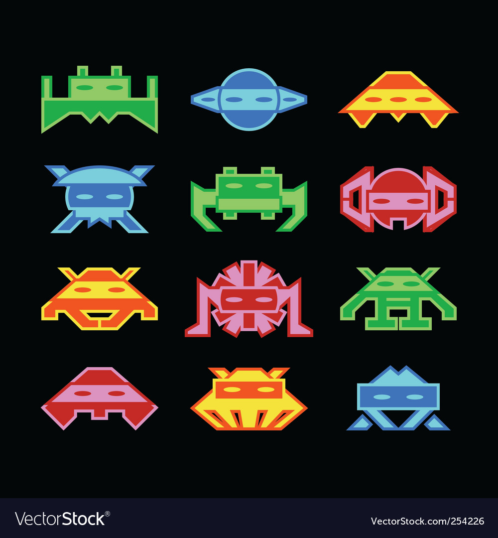how to draw space invaders