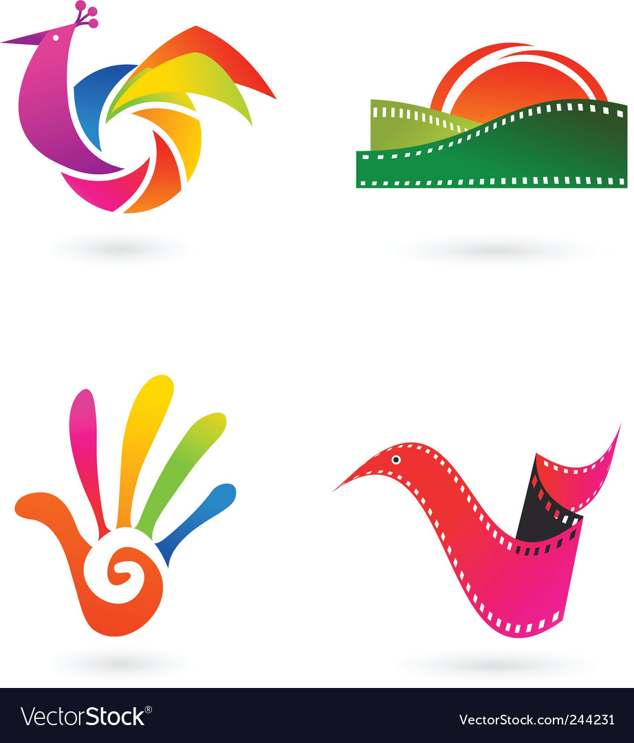 Cinema and entertainment vector image