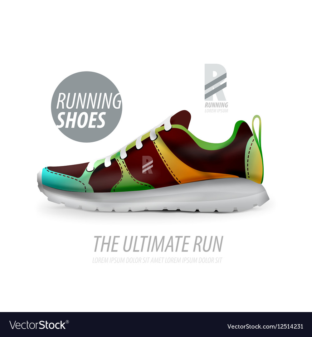 Running Template Free Vector Shoes Image Ad Product Royalty 80wvNmnO