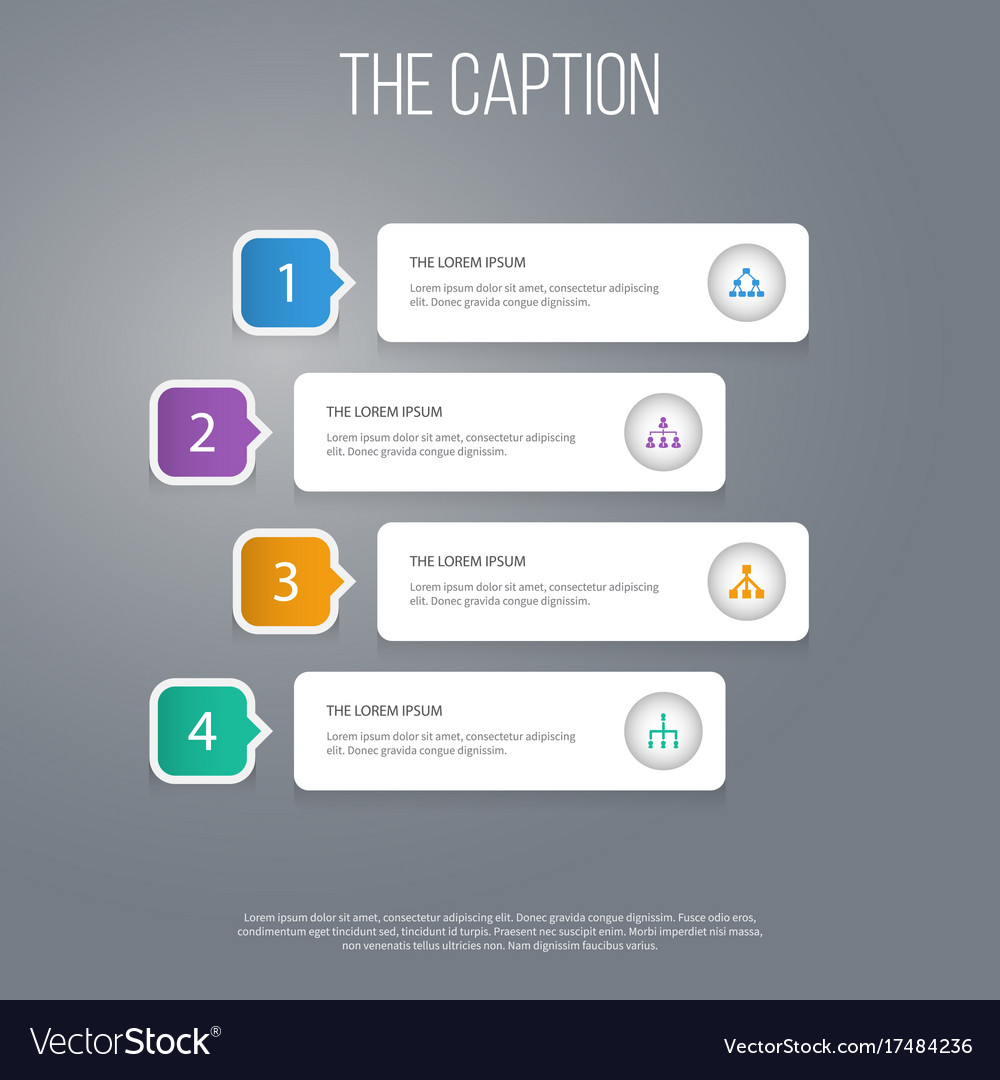 Icon work set of hierarchy structure corporate