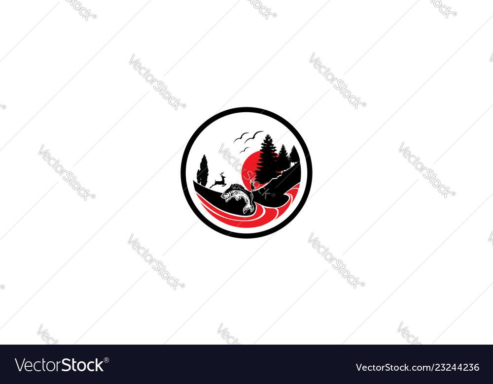 Outdoor logo icon