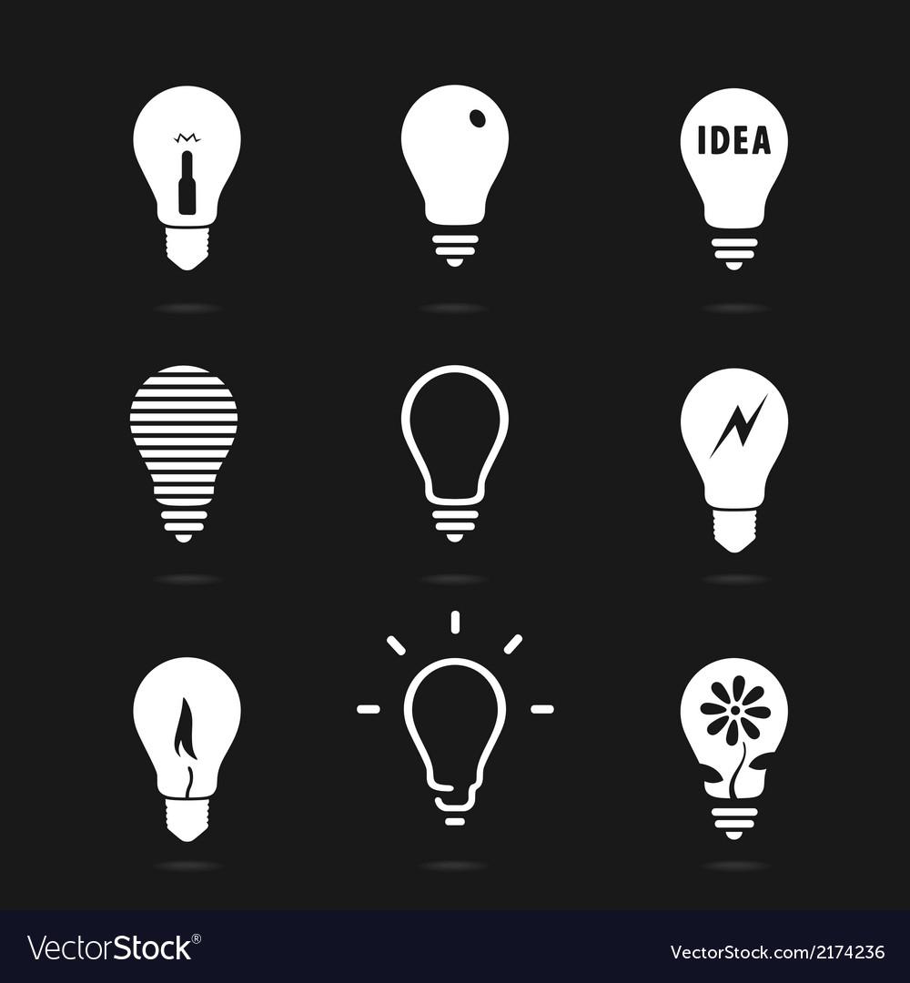 Set bulbs symbol