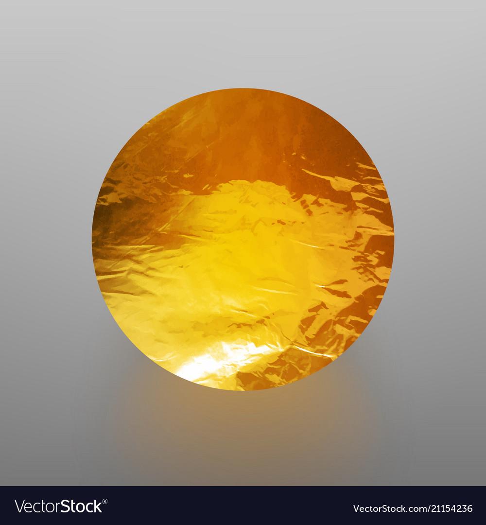 Stock shiny sparkly gold leaf