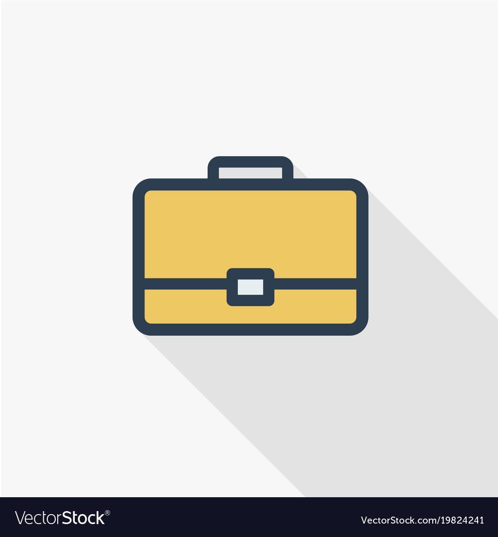 Case briefcase career symbol portfolio thin