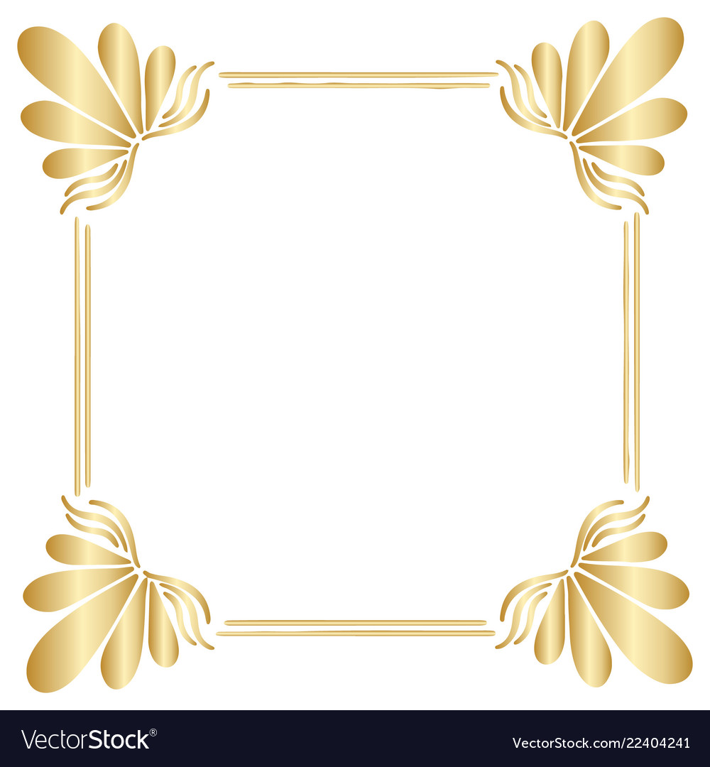 25+ Best Looking For Gold Vector Border Frame