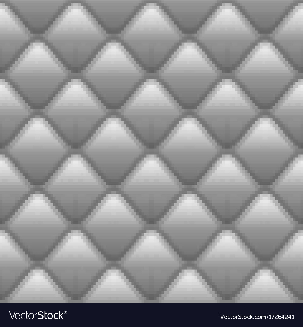 Soft seamless pattern with waves in gray eps 10