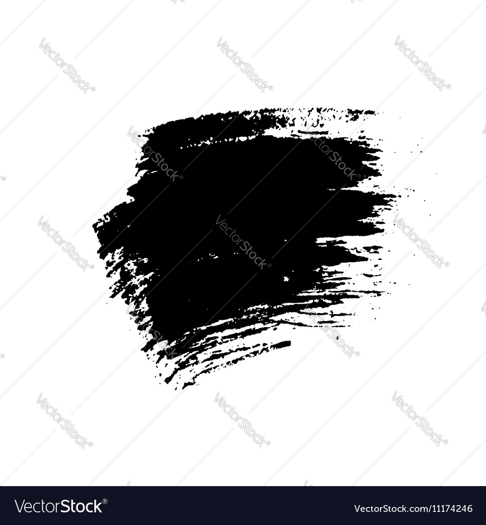 Grunge brushes texture vector image