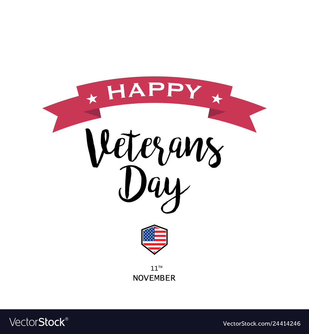 On a veterans day design