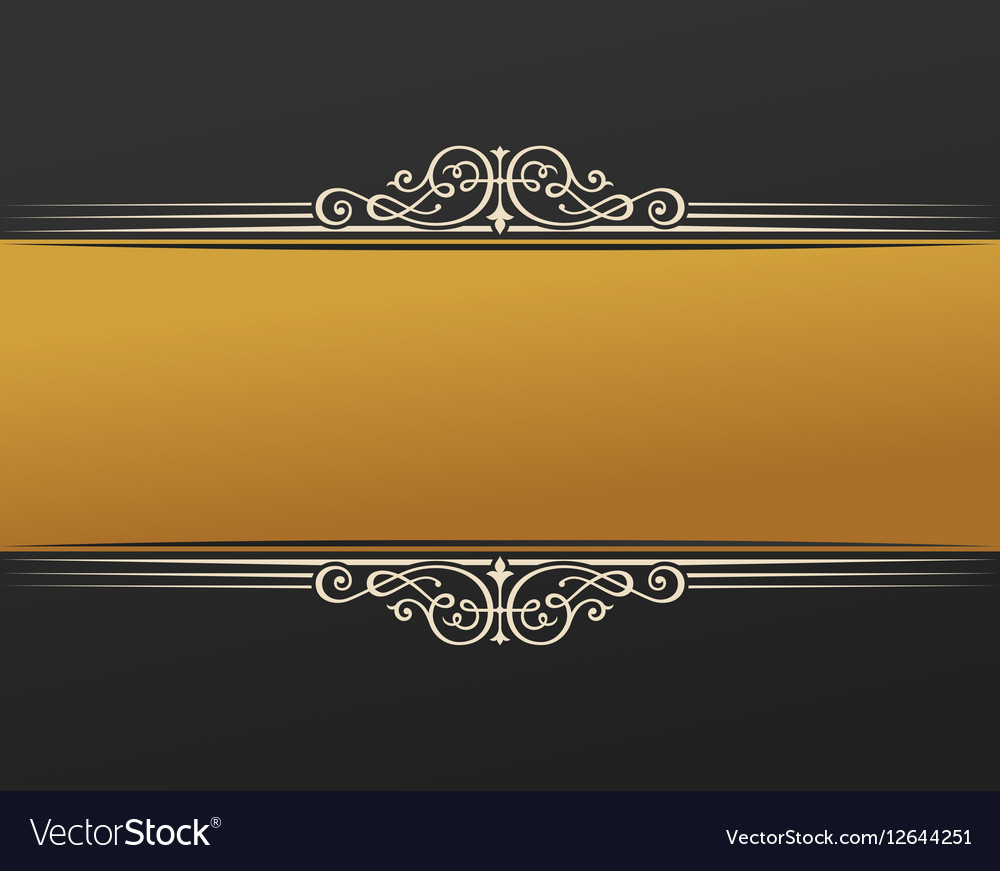 Banner islam ethnic design gold invitation vector image stopboris Images