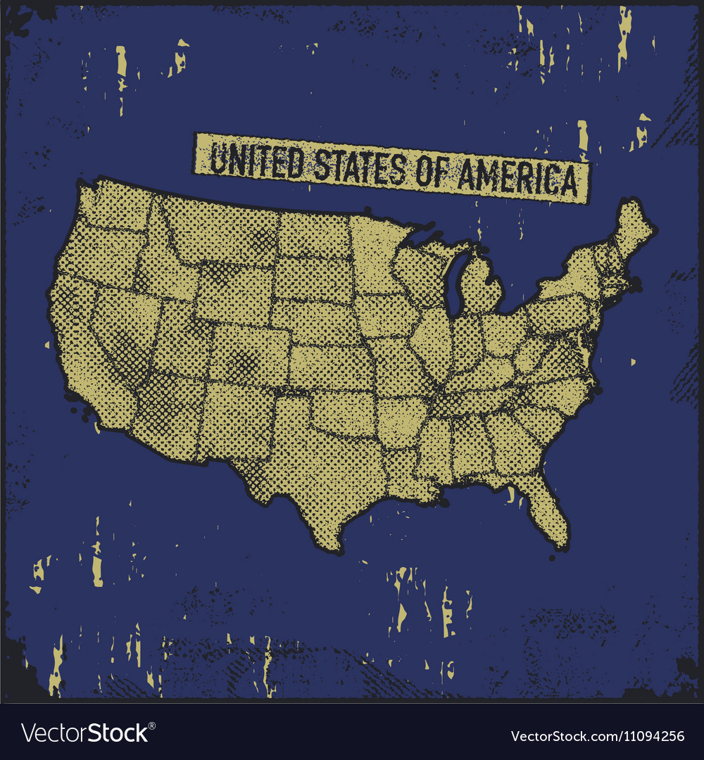 Retro distressed insignia with US map vector image on VectorStock on us map title, us map autocad, us map graphics, us map visio, us map stencil, us map print, us map drawing, us map flash, us map teacher, us map illustration, us map technology, us map art, us map excel, us map cook, us map vector, us map jpeg, us map pdf, us map black, us map html5,