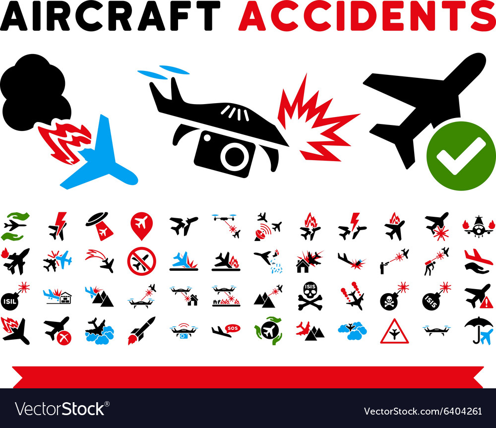 Aircraft Accidents Icons