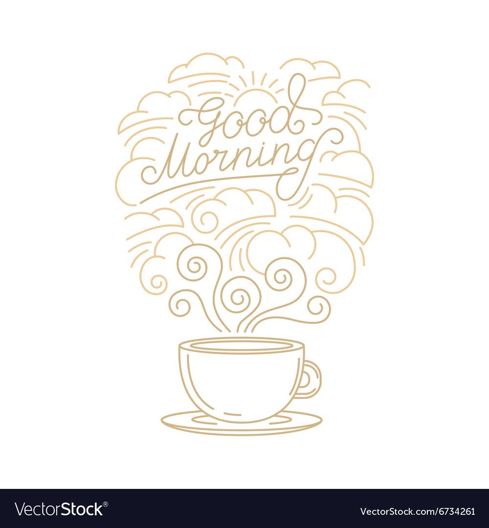 Greeting card poster or placard design vector image