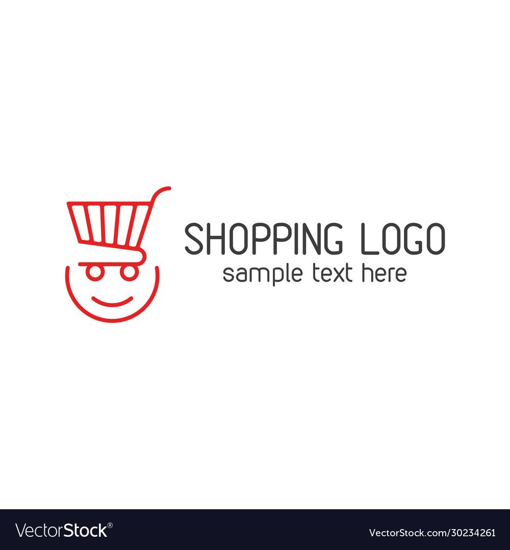 Shopping template logo
