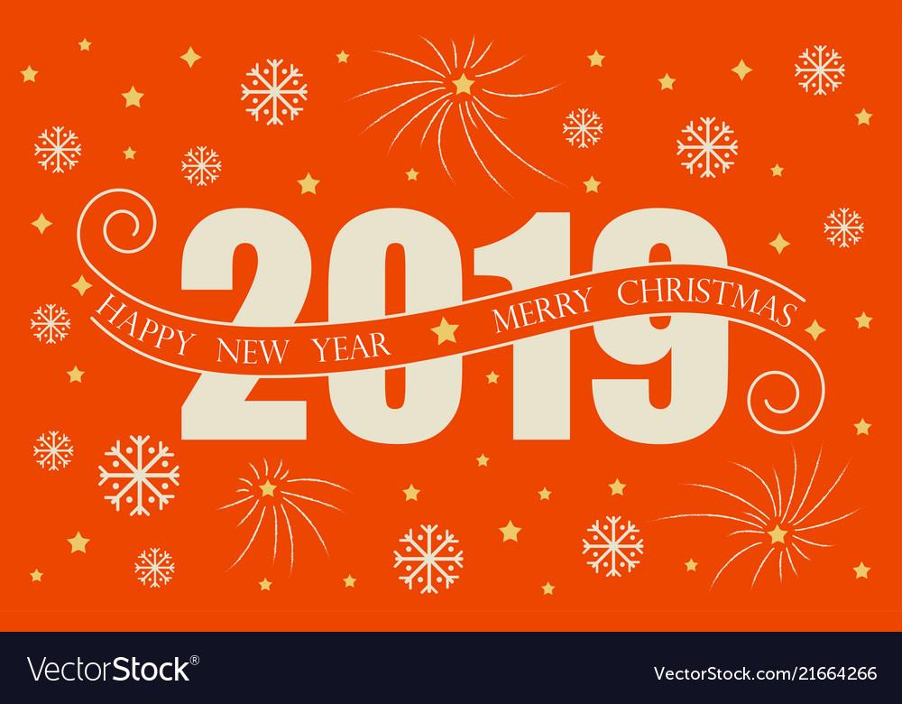 Happy New Year Orange 51