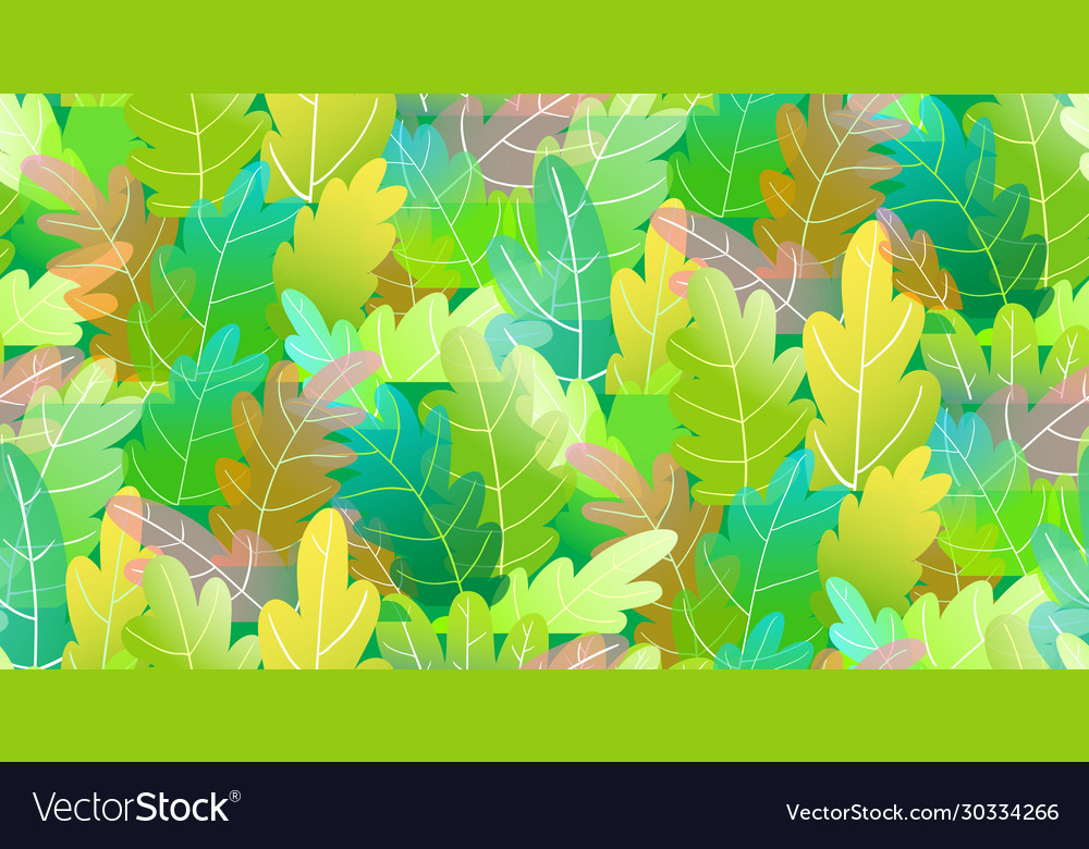 Abstract trees forest foliage colorful seamless