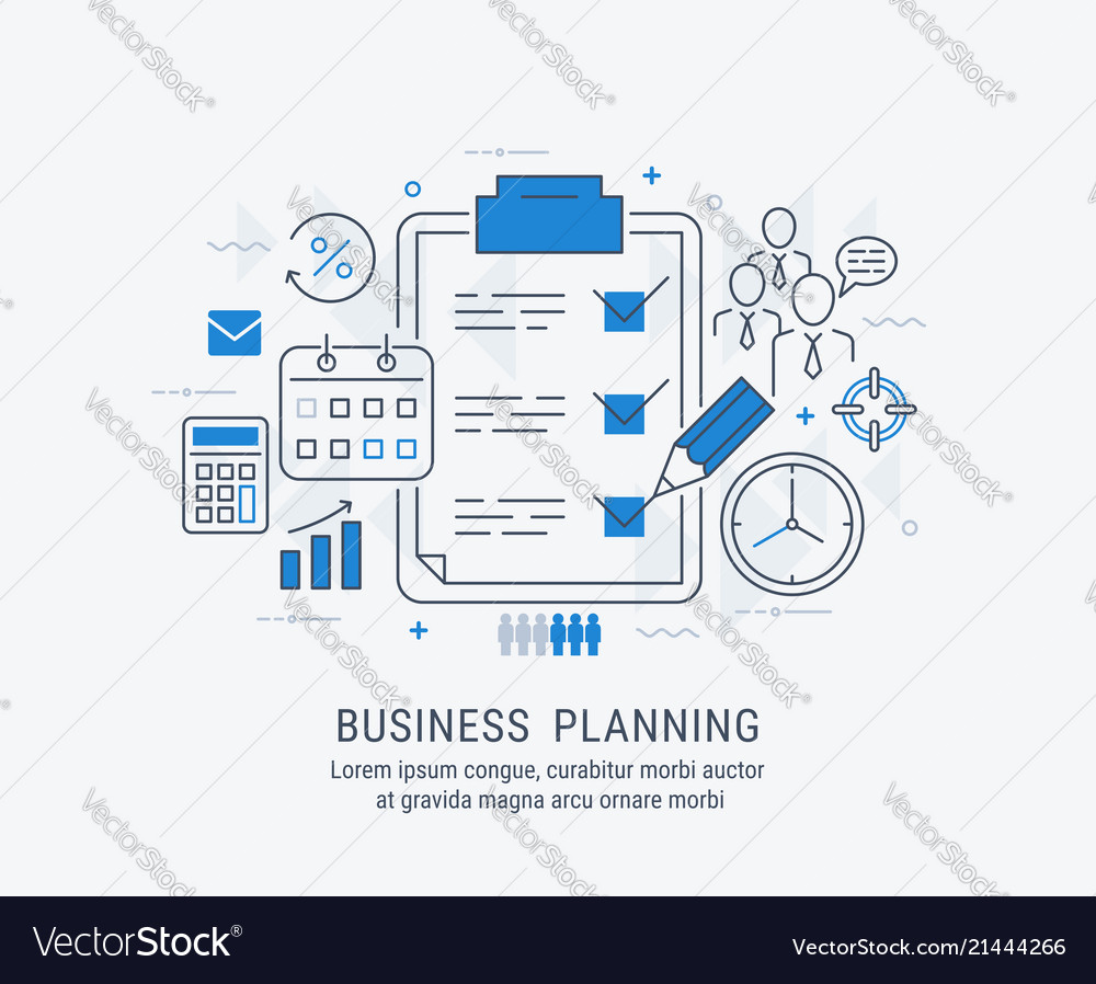 Flat line of business planning