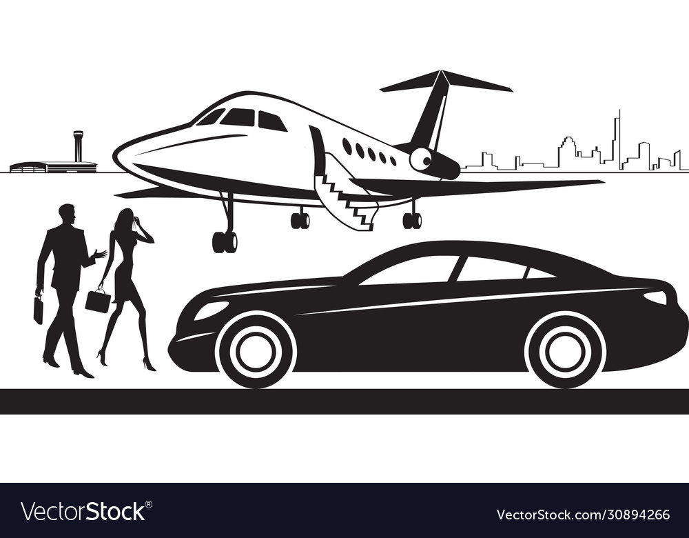 Luxury car service from airport