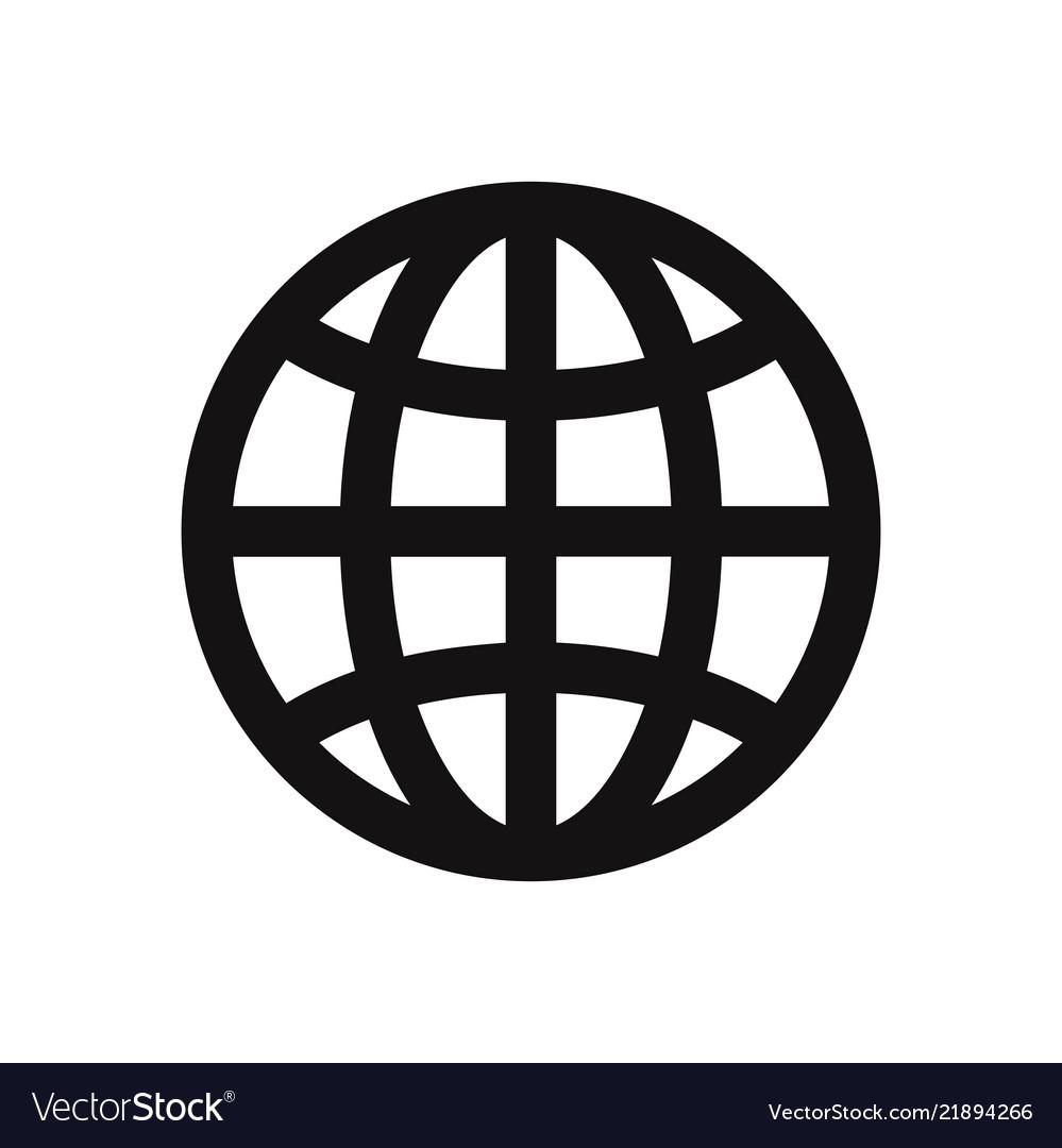 World wide icon web symbol