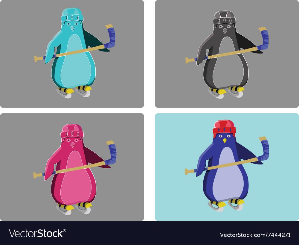 Hockey Penguins Emblem