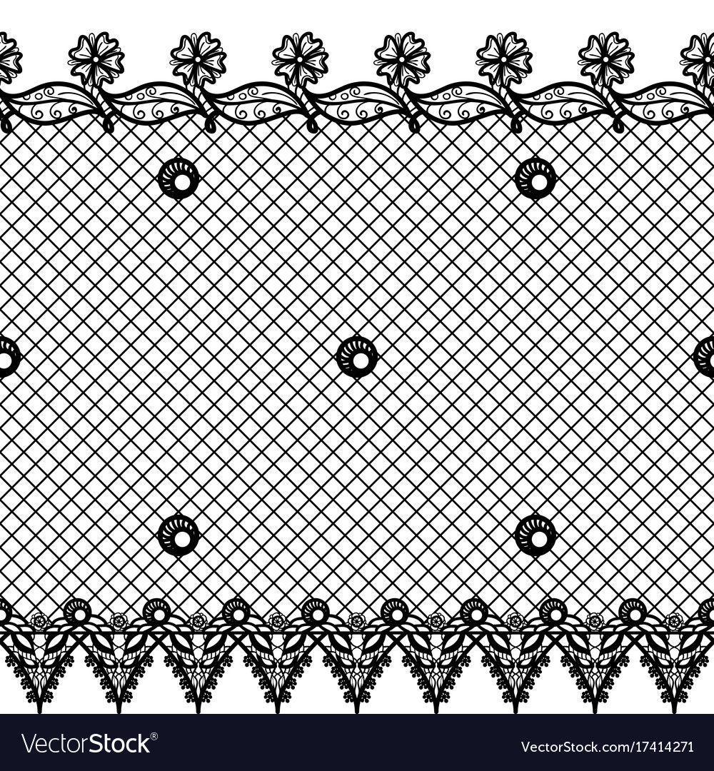 Seamless texture with lace design