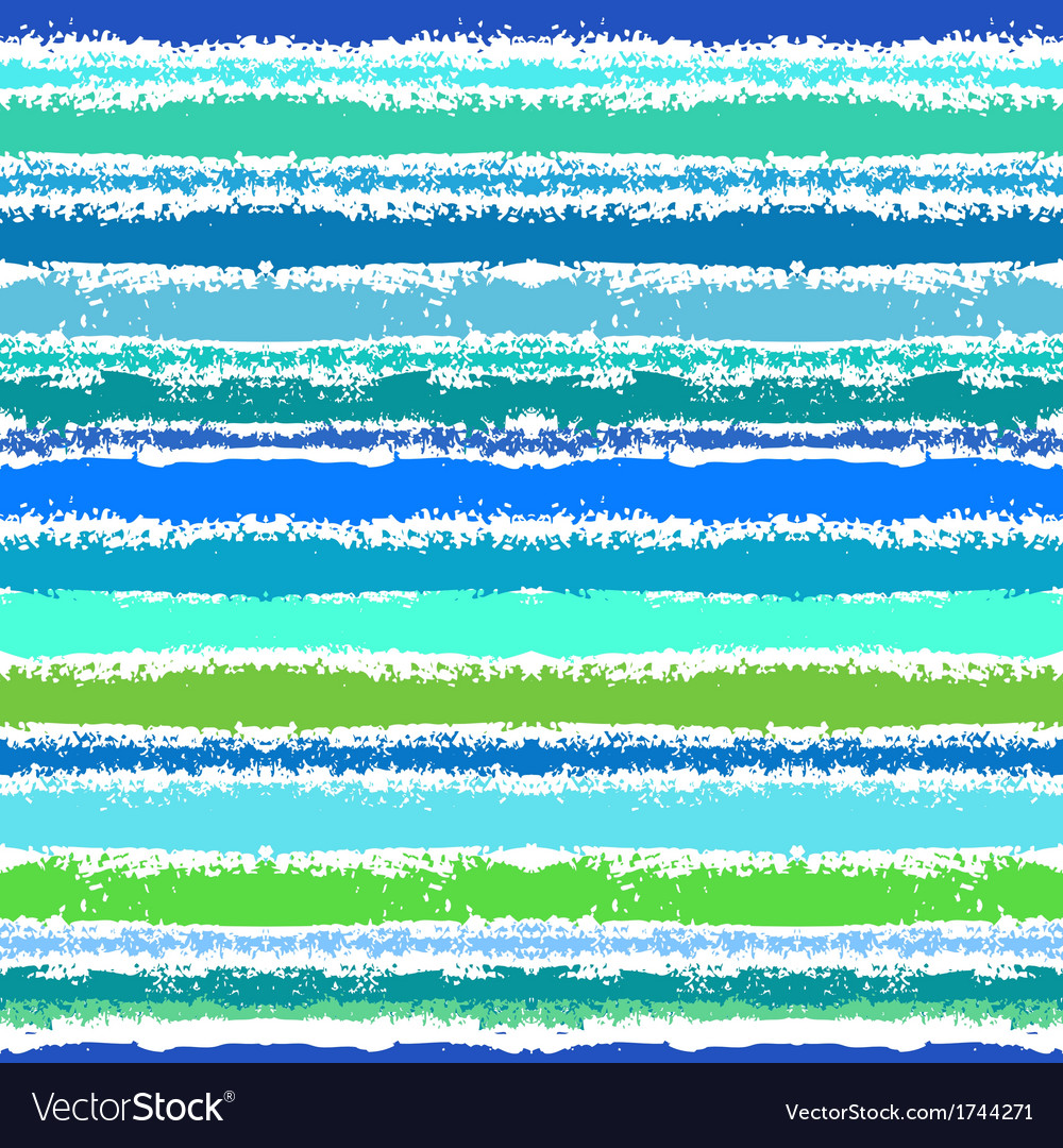 Striped pattern inspired by sea waves