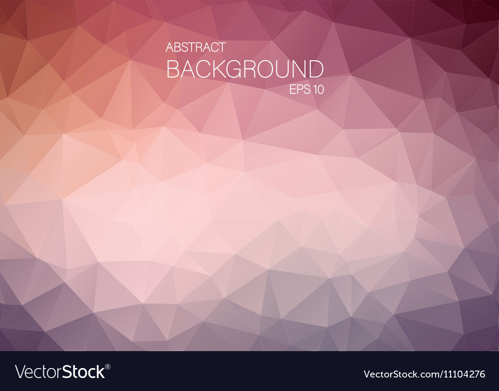 Abstract triangle shapes backgound vector image