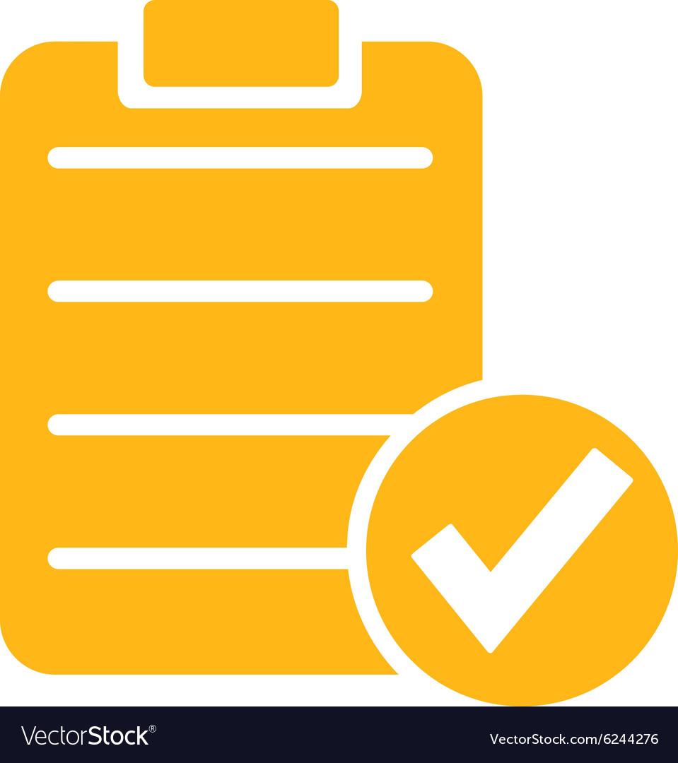 Apply Form Icon vector image