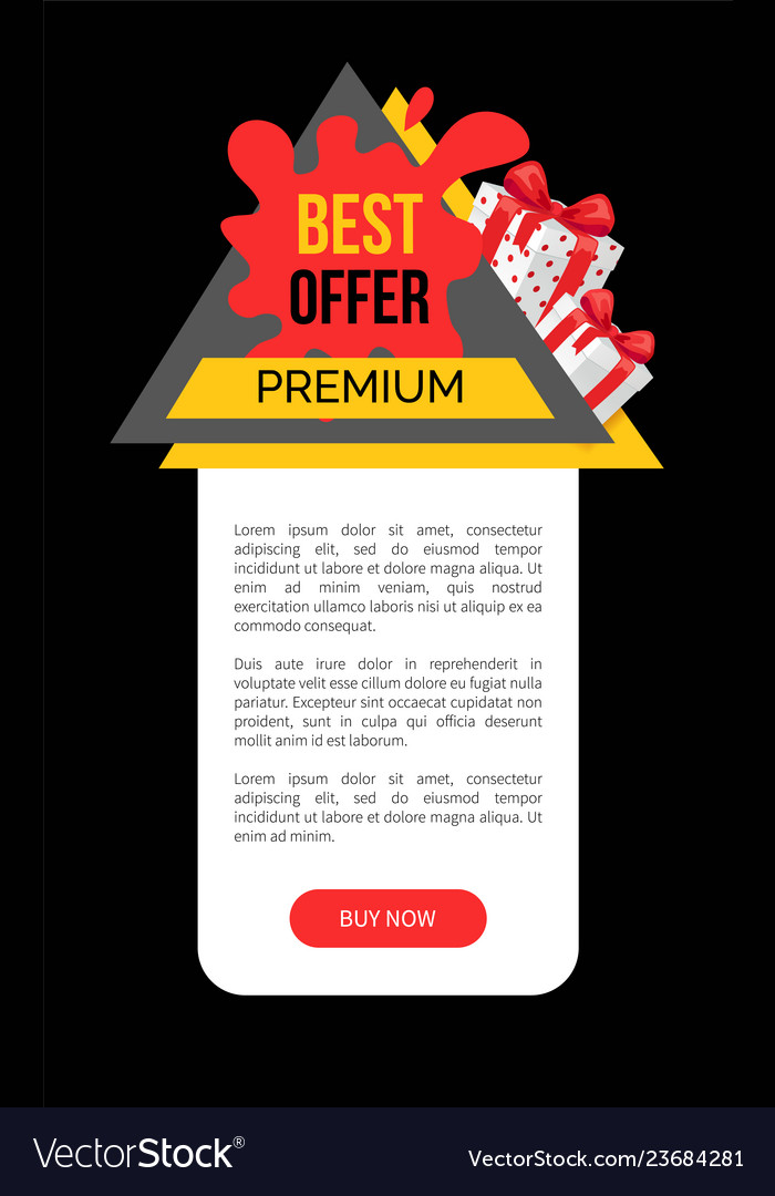 Discount offer on product advertising sale