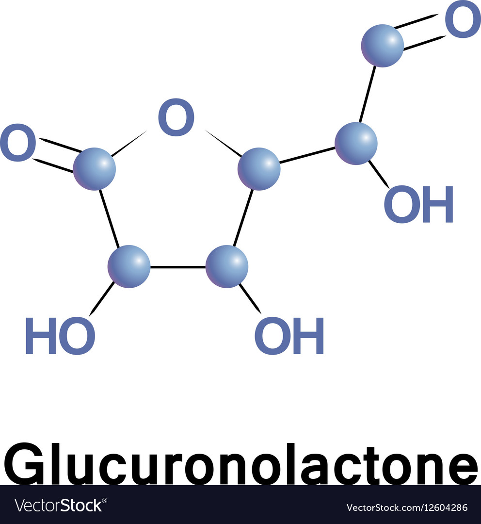 Glucuronolactone structural connective tissue