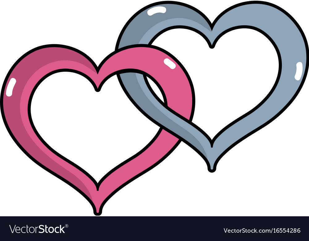 Nice Heart Symbol To Love And Passion Royalty Free Vector