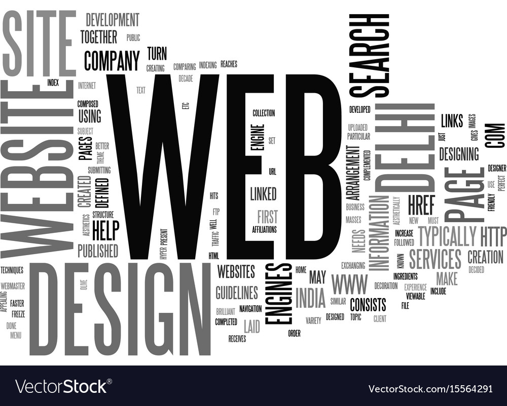 A brilliant set up for web development text word