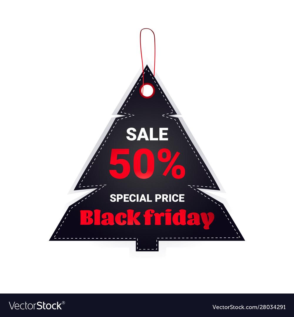 Black friday tag discount badge holiday shopping