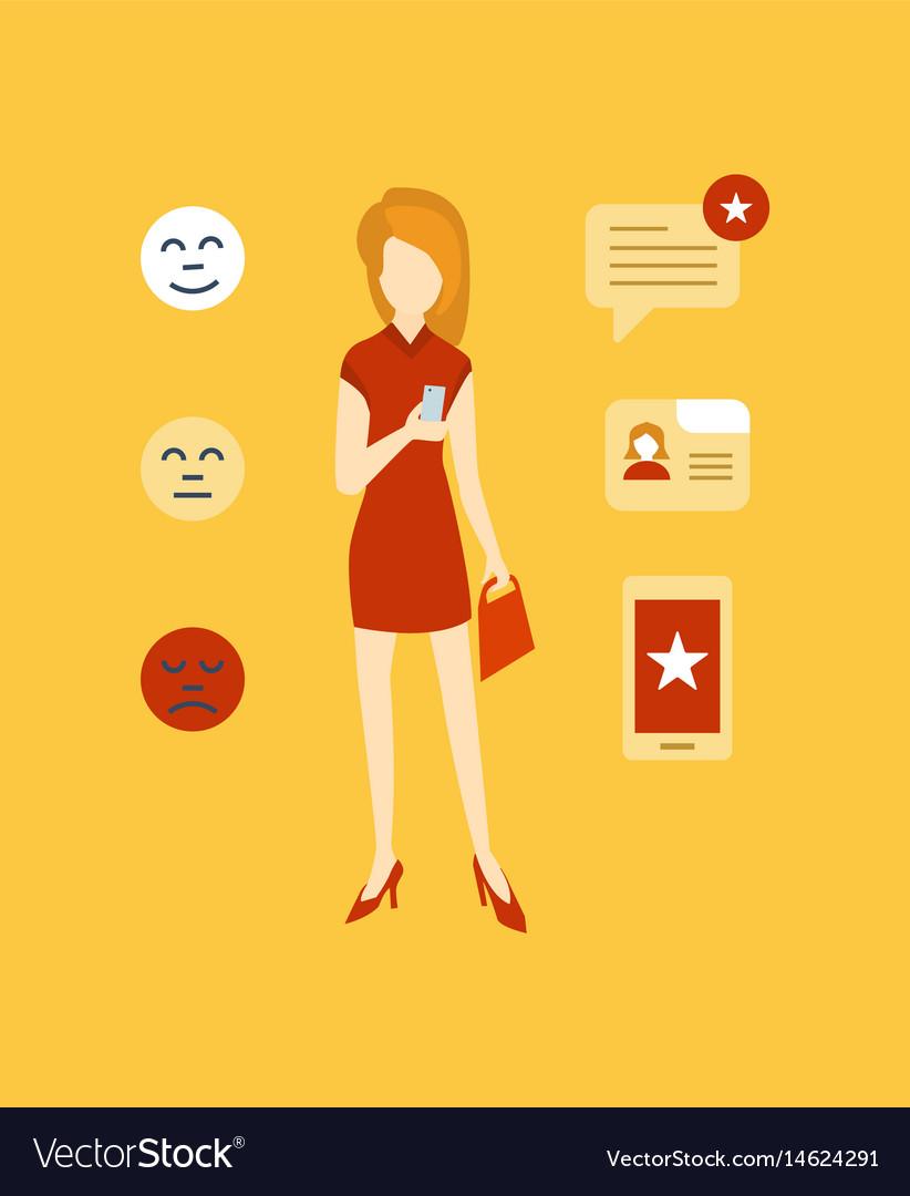 Testimonials shopping feedback mobile app