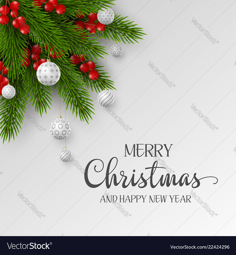 Christmas and new year holiday design