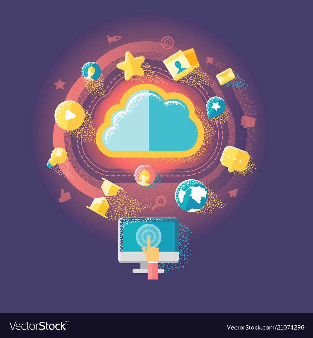 Cloud technologies and internet