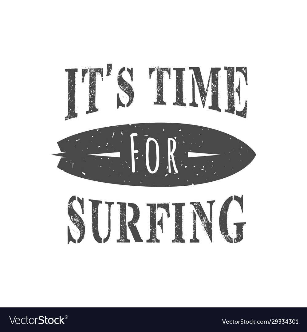 Surfing logotype vector
