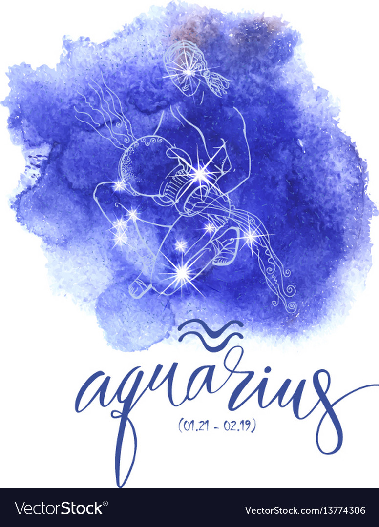 Astrology sign aguarius