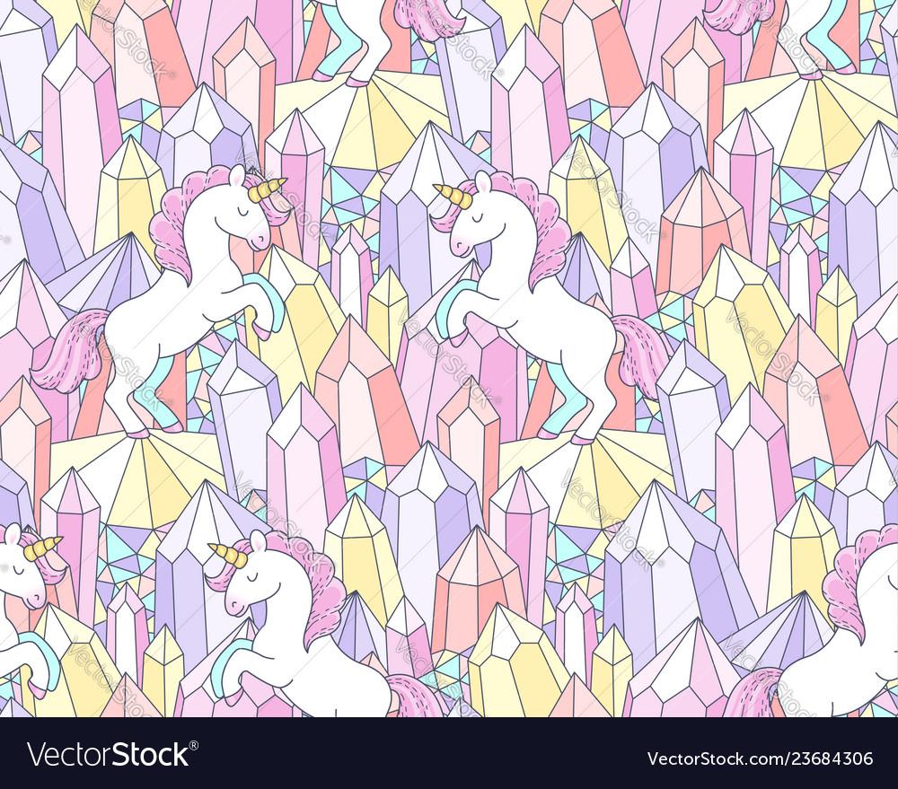 Crystals and unicorns