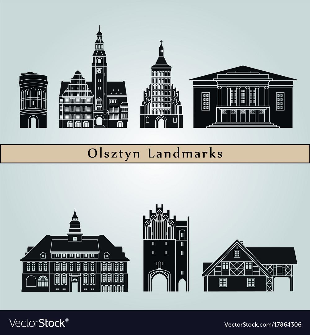 Olsztyn landmarks