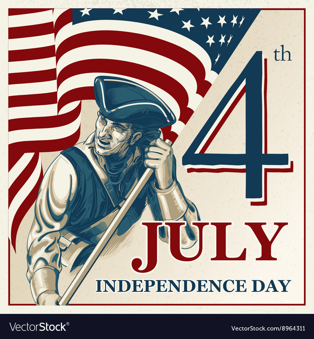 Independence Day - Fourth of July vintage