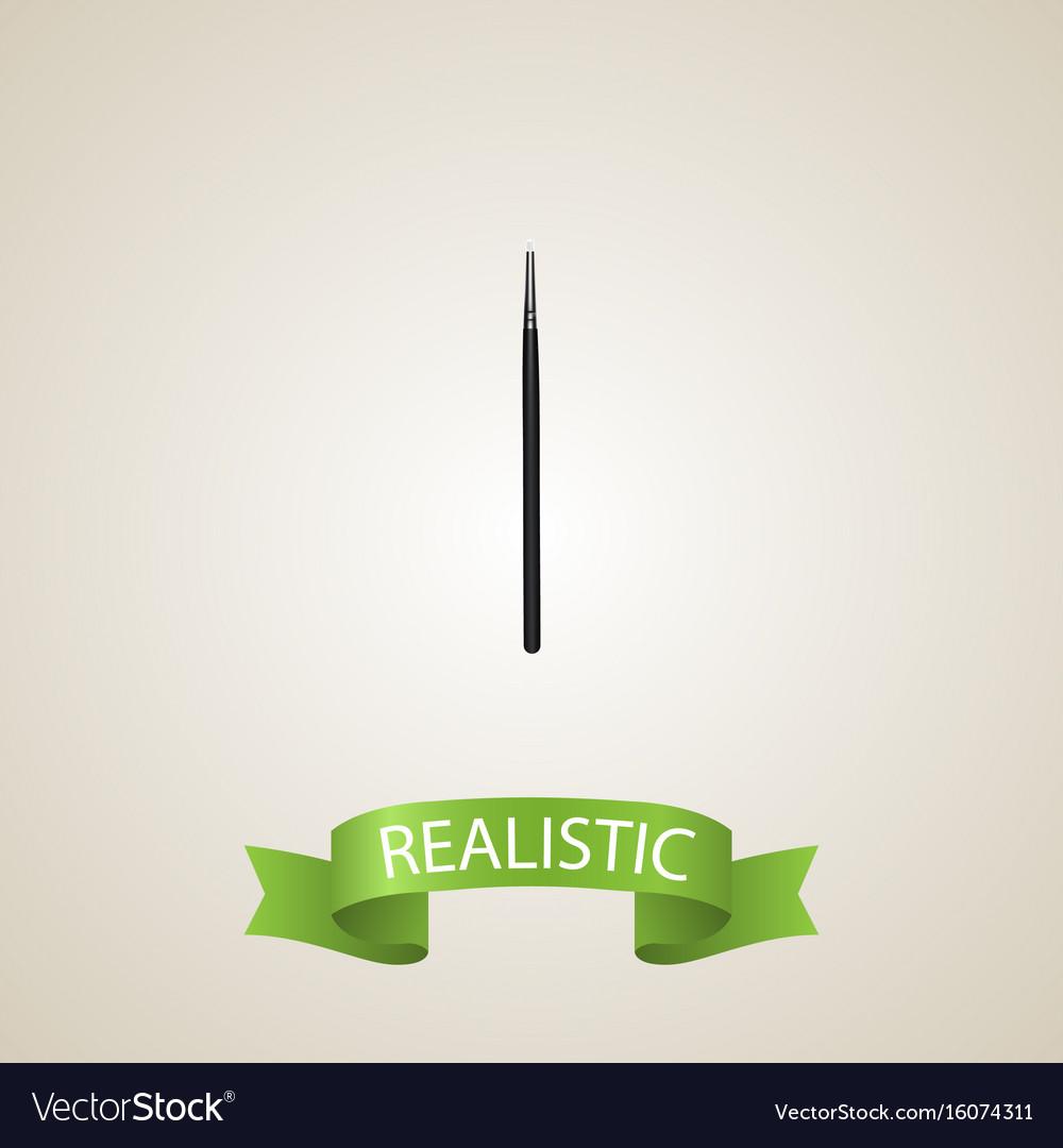 Realistic blending brush element