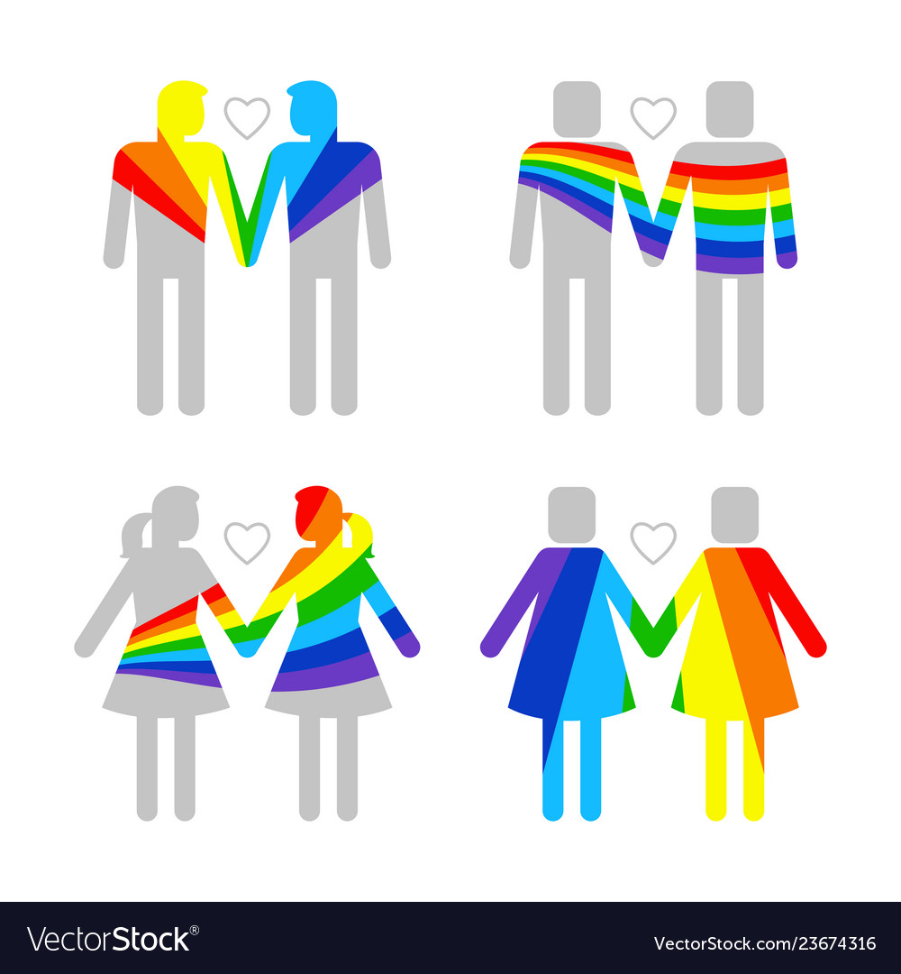 Lgbt gay and lesbians homosexuals people couples