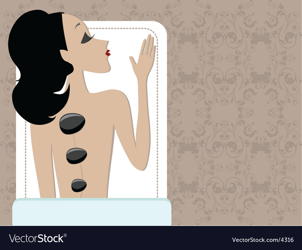 Miss boo spa vector image