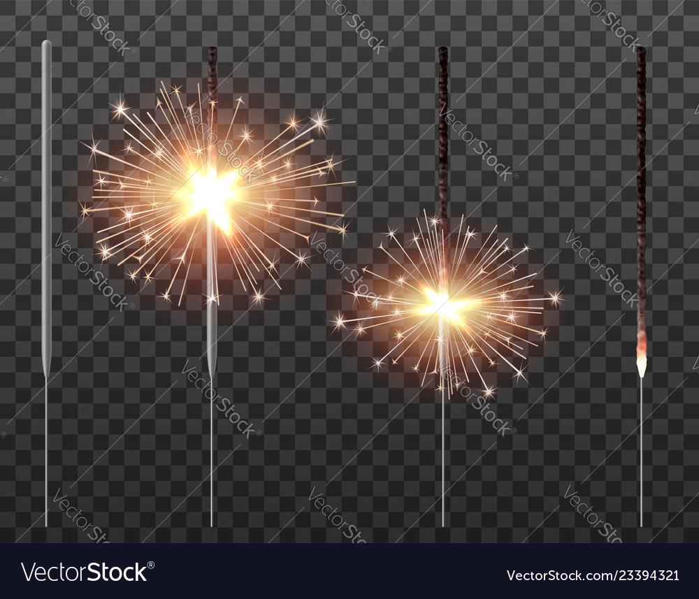 Bengal light christmas sparkler set