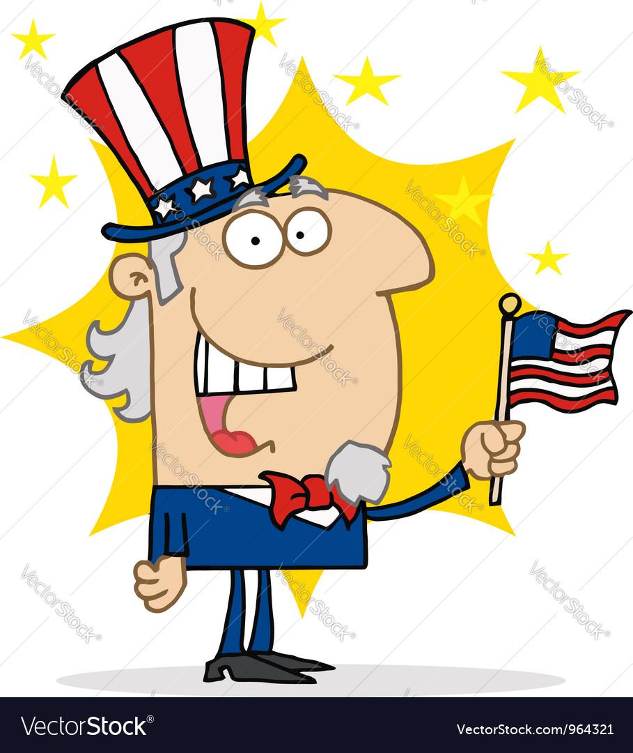 Energetic Uncle Sam